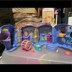Littlest pet shop play house